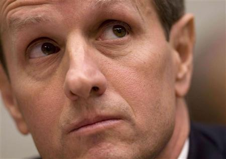 U.S. Treasury Secretary Timothy Geithner testifies before the House Financial Services Committee on Capitol Hill in Washington, October 29, 2009. REUTERS/Larry Downing