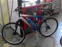 <p>Il prototipo Cnr di bicicletta all'idrogeno. REUTERS/hO</p>