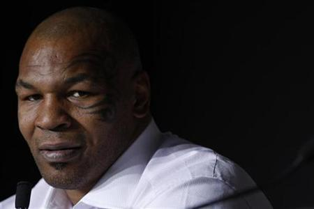 Former world heavyweight boxing champion Mike Tyson attends a news conference at the 61st Cannes Film Festival May 17, 2008. REUTERS/Vincent Kessler