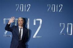 "<p>Il regista Roland Emmerich a un'anteprima di ""2012"". REUTERS/Christian Charisius</p>"