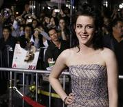"<p>Actress Kristen Stewart, star of the new film ""The Twilight Saga: New Moon"", poses at the film's Los Angeles premiere November 16, 2009. REUTERS/Fred Prouser</p>"