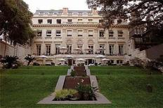 <p>1: The Palacio Duhau-Park Hyatt in Buenos Aires in an undated image. Readers of travel magazine Travel + Leisure ranked hotels on a list of services and amenities to come up with their 20 top business hotels, part of the publication's annual World's Best survey. REUTERS/Hyatt/Handout</p>
