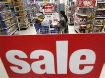 "<p>Shoppers look through the aisles during a Black Friday sales event at a ""Toys R Us"" store in Falls Church, Virginia November 27, 2009. Americans headed to department stores in droves in the dead of night on Friday to kick off the holiday shopping season, though many said they had pared back how much they would spend on family members and on themselves. Black Friday, the day after U.S. Thanksgiving, is often the single busiest shopping day of the crucial holiday season, which accounts for nearly one-fifth of the retail industry's annual sales. REUTERS/Jim Young</p>"