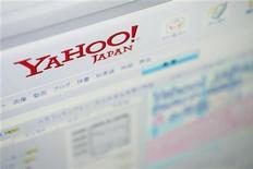 <p>Il sito di Yahoo in Giappone. REUTERS/Stringer</p>