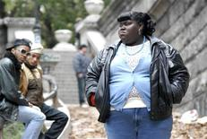 "<p>Actress Gabourey Sidibe is shown in a scene from the Lionsgate film ""Precious"" in this undated publicity photo released to Reuters December 1, 2009. Film dramas ""Precious"" and ""The Last Station"" earned five nominations each, including best feature, on Tuesday for Independent Spirit Awards, the leading honors for movies made outside Hollywood's major studios. REUTERS/Lionsgate Films/handout</p>"