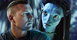 "<p>Actors Sam Worthington (L) and Zoe Saldana as her digital character Neytiri are shown in a scene from the upcoming James Cameron film ""Avatar"" in this undated publicity photo released to Reuters December 10, 2009. REUTERS/Twentieth Century Fox/Handout</p>"