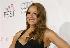 "<p>Actress Mariah Carey, star of the new film ""Precious: Based on the novel 'Push' by Sapphire"", poses at the AFI Fest 2009 gala screening of the film in Hollywood November 1, 2009. REUTERS/Fred Prouser</p>"