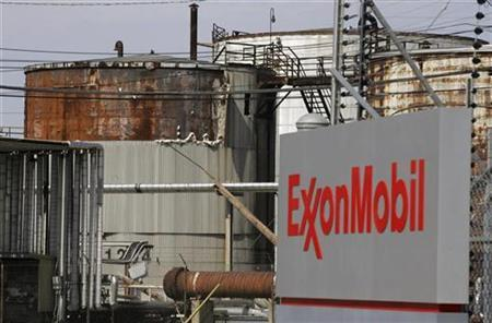 A view of the Exxon Mobil refinery in Baytown, Texas, September 15, 2008. REUTERS/Jessica Rinaldi
