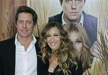 "<p>Cast members Hugh Grant and Sarah Jessica Parker arrive for the film premiere of ""Did You Hear About The Morgans?"" in New York December 14, 2009. REUTERS/Finbarr O'Reilly</p>"