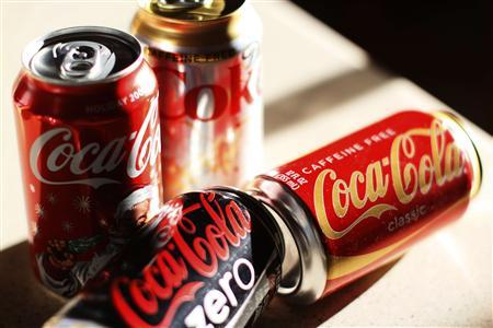 Coca-Cola products are displayed on a kitchen counter in Golden, Colorado December 17, 2009. REUTERS/Rick Wilking