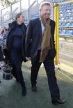 <p>L'ex-tennista Boris Becker con la moglie Lilly in una immagine di archivio. REUTERS/Johannes Eisele</p>