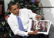 <p>Il presidente Usa Barack Obama. REUTERS/Kevin Lamarque</p>