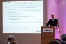 <p>GVT, la filiale de téléphonie brésilienne de Vivendi, annonce avoir nommé à sa tête Jean-Bernard Lévy, le président du directoire de la maison-mère. /Photo prise le 1er septembre 2009/REUTERS/Benoît Tessier</p>
