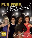 <p>A new anti-fur poster, released by PETA, shows (L-R) country singer Carrie Underwood, U.S. first lady Michelle Obama and talk show hosts Oprah Winfrey and Tyra Banks. REUTERS/PETA/Handout</p>