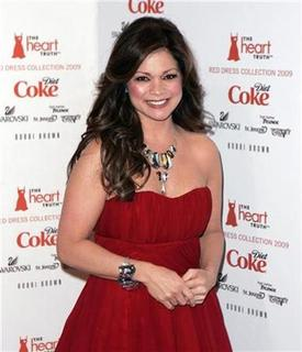 Actress Valerie Bertinelli arrives for the Heart's Truth Red Dress collection show at New York Fashion Week in New York, February 13, 2009. REUTERS/Carlo Allegri