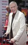 """<p>Рикардо Монтальбан прибывает на премьеру фильма """"Дети шпионов 2: Остров несбывшихся надежд"""" в Лос-Анджелесе 28 июля 2002 года. в 2009 года скончался актер Рикардо Монтальбан. Одна из самых известных ролей Монтальбана - мистер Рорк из сериала """"Остров фантазий"""". REUTERS/Jim Ruymen</p>"""