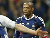 <p>Thierry Henry. REUTERS/Benoit Tessier</p>