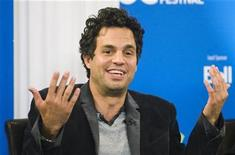 "<p>Actor Mark Ruffalo attends a news conference for the ""Brothers Bloom"" film during the 33rd Toronto International Film Festival September 9, 2008. REUTERS/Mark Blinch</p>"