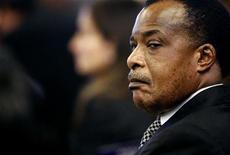 <p>Republic of Congo President Denis Sassou-Nguesso attends for the Food and Agriculture Organisation (FAO) Food Security Summit in Rome November 16, 2009. REUTERS/Pier Paolo Cito/Pool</p>