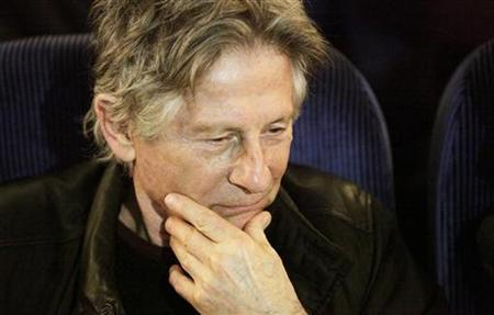 Polish-born film director Roman Polanski awaits a public talk in Potsdam February 19, 2009. REUTERS/Hannibal Hanschke