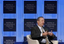 <p>Lawrence Summers, Director of the National Economic Council attends a session at the World Economic Forum (WEF) in Davos January 29, 2010. REUTERS/Michael Buholzer</p>