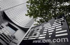 <p>La sede di Ibm a Parigi. REUTERS/Philippe Wojazer</p>