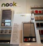 <p>Foto de arquivo da época do lançamento do e-reader da Barnes & Noble, Nook. REUTERS/Shannon Stapleton</p>