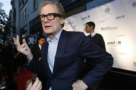 British actor Bill Nighy is interviewed at the first Cinema Against AIDS Toronto gala on September 15, 2009. REUTERS/Mario Anzuoni