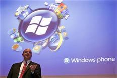 <p>L'ad di Microsoft Steve Ballmer REUTERS/Charles Platiau</p>