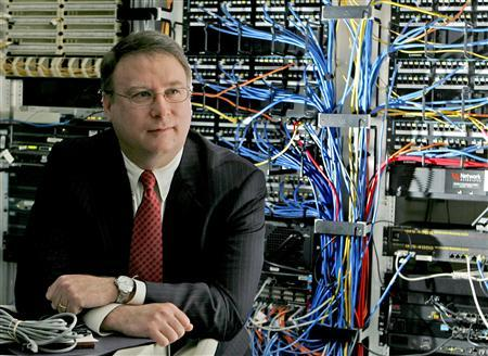 Daniel M. Hawke, the regional director of the Securities and Exchange commission's Philadelphia office, and national unit chief of the Market abuse unit's division of enforcement is pictured in the computer server area at his office in Philadelphia, Pennsylvania February 17, 2010. REUTERS/Tim Shaffer