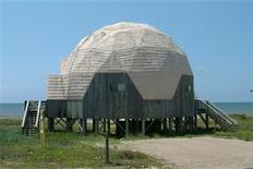 <p>Dome Ecile, a vacation rental on St. George Island, Florida is seen in a handout photo. REUTERS/Collins Vacation Rental/Handout</p>