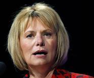 <p>Carol Bartz, amministratore delegato Yahoo, in foto d'archivio. REUTERS/Robert Galbraith</p>