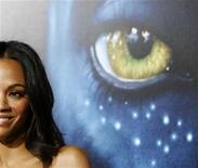 "<p>Cast member Zoe Saldana poses at the premiere of ""Avatar"" at the Mann's Grauman Chinese theatre in Hollywood, California December 16, 2009 file photo. REUTERS/Mario Anzuoni</p>"