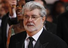 <p>Director George Lucas arrives at the 67th annual Golden Globe Awards in Beverly Hills, California January 17, 2010. REUTERS/Danny Moloshok</p>