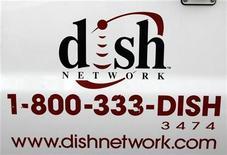<p>Logo della Dish Network in foto d'archivio. REUTERS/Rick Wilking</p>