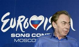 <p>English composer Andrew Lloyd Webber attends a news conference ahead of the Eurovision Song Contest final in Moscow May 15, 2009. REUTERS/Sergei Karpukhin</p>