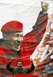 <p>Президент Венесуэлы Уго Чавес на пресс-конференции в Каракасе 27 февраля 2010 года. Президент Венесуэлы Уго Чавес уверен, что Бог и силы природы на его стороне и вытянут страну из энергетического кризиса. REUTERS/Edwin Montilva</p>