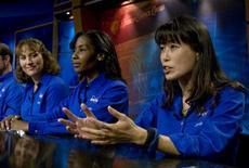 <p>Astronauti in foto d'archivio. REUTERS/Richard Carson</p>