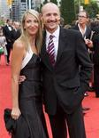 <p>Colm Feore poses with his wife Donna during Canada's Walk of Fame red carpet in Toronto September 6, 2008. REUTERS/Mark Blinch</p>