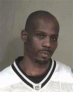Earl Simmons, aka rap artist DMX, is shown in this Maricopa County Sheriff Department booking mugshot released to Reuters March 9, 2010. REUTERS/Maricopa Sheriff's Office/Handout