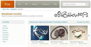 <p>A screenshot of the Etsy.com website. Picture taken March 2010. REUTERS/handout/etsy.com</p>