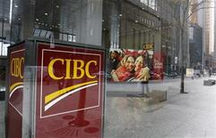 <p>A Canadian Imperial Bank of Commerce (CIBC) branch is seen in Toronto November 9, 2007. REUTERS/Mark Blinch</p>