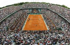 <p>Roland Garros in foto d'archivio. REUTERS/Bogdan Cristel</p>