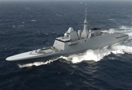 A Fremm multimission frigate in an undated image courtesy of DCNS. REUTERS/Handout