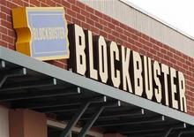 <p>Logo di Blockbuster in foto d'archivio. REUTERS/Rick Wilking</p>