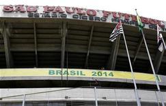 <p>Foto de arquivo do estádio Morumbi, que será reformado para a Copa do Mundo de 2014 no Brasil. REUTERS/Rickey Rogers</p>