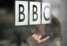 <p>Logo della Bbc in foto d'archivio. REUTERS/Andrew Winning</p>