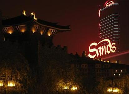 The Sands casino and hotel is seen in Macau October 31, 2009. REUTERS/Staff