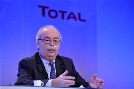 Christophe de Margerie, Chief Executive Office of French oil company Total, speaks during the company's 2009 annual results presentation in Paris February 11, 2010. REUTERS/Philippe Wojazer