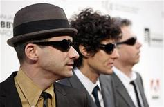 <p>Members of the Beastie Boys (L-R) Adam (Adrock) Horovitz, Michael (Mike D) Diamond, and Adam (MCA) Yauch arrive to attend the 11th annual Webby Awards honoring online content in New York June 5, 2007. REUTERS/Lucas Jackson</p>